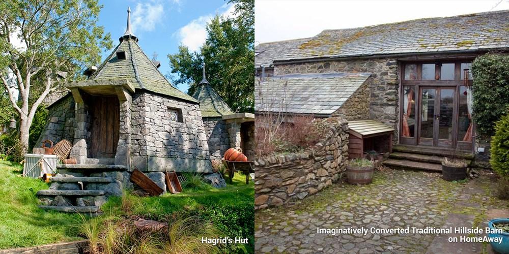 ルビウス・ハグリッドの小屋